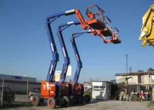 строителна техника наем